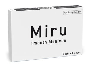 Miru 1month Menicon for Astigmatism, 6 szt.
