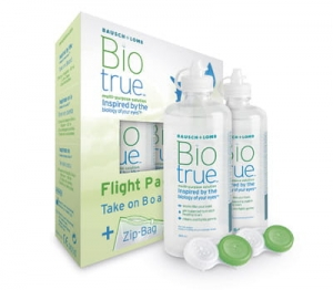 Biotrue Flight Pack, 2x60 ml